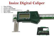 Insize digital inside groove caliper 22 - 150mm steel calliper code: 1120-150A