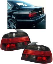 KLARGLAS RÜCKLEUCHTEN ROT SCHWARZ FÜR BMW 5ER E39 Limousine 95-00
