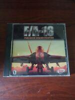PC F/A-18 Precision Strike Fighter Combat Flight Simulator in Jewel Case Version