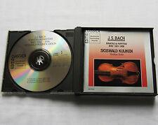 KUIJKEN/BACH Sonatas & Partitas BWV 1001-1006 GERMANY 2CD box DHM GD77043 (1990)