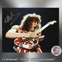 Eddie Van Halen Autographed Signed 8 x 10 Premium Quality Photo REPRINT