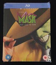 THE MASK Blu-Ray SteelBook Zavvi UK Exclusive Ltd Ed 1/2500 Region Free OOP Rare