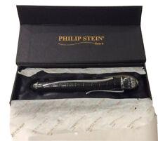 TRAVEL WINE WAND BY PHILIP STEIN-TOUCH OF MODERN BLACK/SILVER Swarovski Crystal