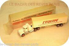 """MAJORETTE FRANCE. tracteur KENWORTH  """"L'EQUIPE"""".  Série limitée."""