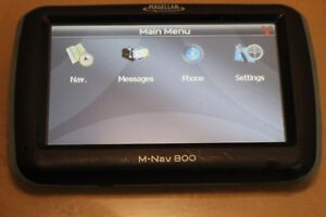 Magellan Navman M-NAV 800 GPS Navigation System Truck Wireless fleet tracking