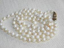 Pearl Yellow Gold Retro Fine Jewellery (1940s)