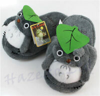 Anime My Neighbor Totoro  Soft Winter Warm Slippers Indoor Shoes Adult present