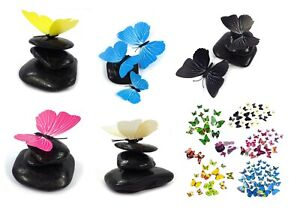3D Schmetterlinge 12er Set Deko Wandtattoo Wandsticker Wanddeko zum aufkleben