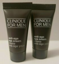~ Brand New ~ Clinique for Men Anti-age Eye Cream 7ml Travel Size x 2