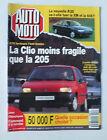 MAGAZINE - AUTO MOTO N° 112 - FEVRIER 1992 *