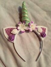 Decorative Unicorn Horn Headband Hair Band Party Fancy Dress Cosplay Costume J/&C