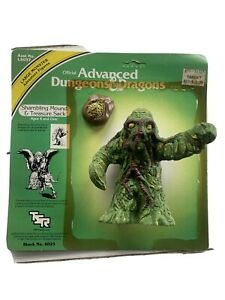 Advanced Dungeons And Dragons Shambling Mound And Treasure 1982 LJN And Card