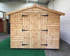 Garden shed Apex roof 13 x 10 13mm cladding *FREE INSTALLATION*