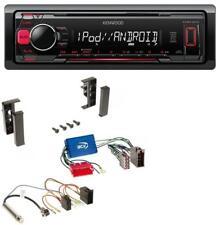 Kenwood MP3 USB 1DIN AUX Autoradio für Audi A2 A3 8L A4 B5 A6 C5 Aktivsystem