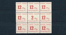 Lokalausgabe Spremberg 1946** fehlende Ziffer Michel 12 A X geprüft (S13906)