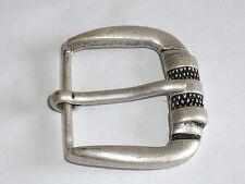 Gürtelschnalle Schließe Schnalle  3,9 cm altsilber  NEUWARE rostfrei #536.2#