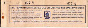 CHILE, CHEQUERA AÑO 1975, DEL BANCO ESTADO DE PUERTO VARAS, CONTIENE 18 CHEQUES