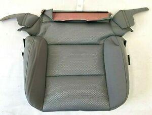 Chevrolet Silverado GMC Sierra Driver Seat lower Cushion Gray Cloth Cover OEM