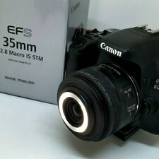 Canon EF-S 35mm f2.8 IS STM Macro -  Image Stabiliser and Built-in Macro Light