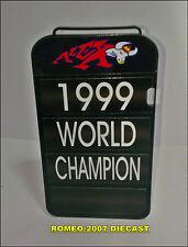 1:12 Pit board - pitboards Alex Criville World Champion 1999 to minichamps NEW