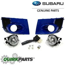 2011-2014 Subaru Impreza WRX STi Blue Pearl Fog Light Kit OEM NEW H4510FG080PG