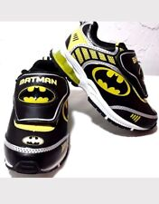 Batman DC Comics Toddler Boy's Premium Athletic Sneakers Shoes Light Up Size 12