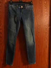 NEW BLANK NYC WOMANS SIZE 26 SUPER SKINNY SPAY ON BLUE JEANS