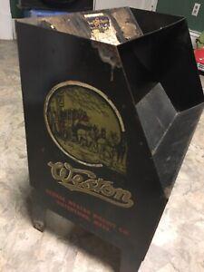 Weston's Biscuit Company Metal Display Rack