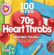 VARIOUS - 100 HITS 70'S HEART THROBS NEW SEALED 5CD BOXSET