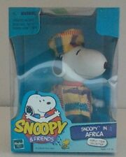 Peanuts Snoopy & Friends Hasbro World Tour Collection Snoopy In Africa NIB