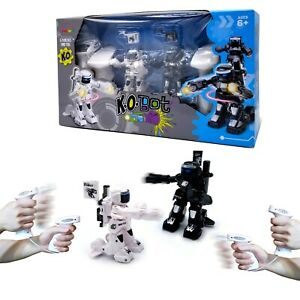 KO Bot- 2-Player RC Boxing Robots Fight To Win. 5 Punches To K.O. Your Opponent!