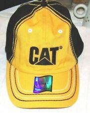 Caterpillar,Stretch-Fit,OSFM,Yellow,Hat,Cap,New!