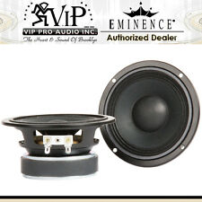 "Eminence ALPHA 4-8 4"" Full Range, Midbass, Midrange 8-Ohm Pro Audio Speaker Pair"