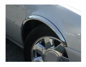 BMW 3 E46 Coupé Cabrio Chrom Radlauf Zierleisten 4 St Vorne Hinten Satz '00-06