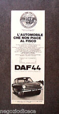 [GCG] N987 - Advertising Pubblicità - 1970 - DAF 44 , AUTOMATIC VARIOMATIC