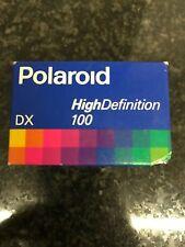 Polaroid High Definition 100 24 Exp 35mm film Expired film fuji kodak perutz