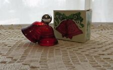Vintage 70s Avon Christmas Bells Decanter Sweet Honesty Cologne Holiday w Box