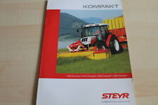 127816) Steyr 4065 4075 4085 4095 Kompakt Prospekt 05/2009