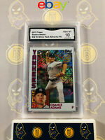 2019 Topps Chance Adams #36 Rookie 84 Silver Pack Refractor 10 GEM MT GMA Graded