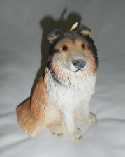 Never Used – Wax Collie Candle in Sitting Position