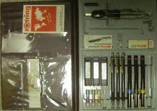 Orginal Rotring Hi-Tech rapidographtechnical Drawing pens Pencil & accessory set