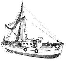 NAXOS, griechisches Fischereifahrzeug. Modellbauplan RC