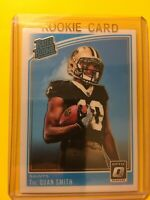 🔥🔥2018 PANINI DONRUSS OPTIC TRE'QUAN SMITH RATED ROOKIE RC #175 SAINTS