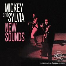 Mickey & Sylvia - New Sounds + 12 Bonus Tracks [New CD] Bonus Tracks, Spain - Im