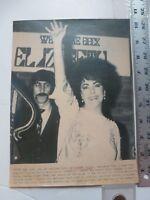 "Vintage Wire Press Photo Elizabeth Taylor After Return ""Little Foxes' 5/26/1981"