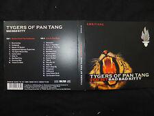 2 CD TYGERS OF PAN TANG / BAD BAD KITTY /