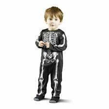 Toddler Halloween Costume Age 6-12 months Cheeky Skeleton Romper Suit  (NEW)