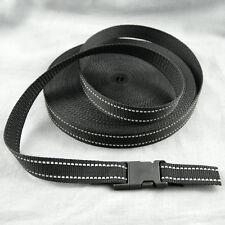 12m Gurtband schwarz mm 10 15 20 25 30 40 50 Tragegurt Taschengurt ab 22ct//m