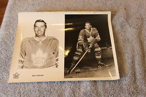 1960's Ron Stewart Toronto Maple Leafs 8x10 split NHL hockey press photo