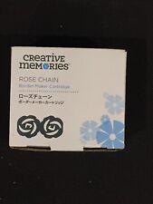 NEW in Box Creative Memories ROSE CHAIN Border Maker Cartridge